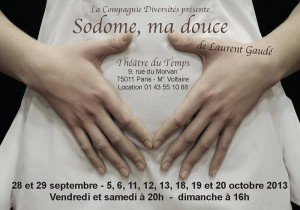 "Flyer recto ""Sodome, ma douce"""